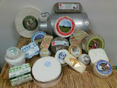 Sélection de fromages d'Auvergne