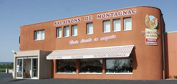Salaisons de Montagnac vente directe en magasin