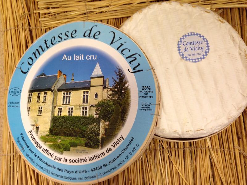 Comtesse de Vichy au lait cru