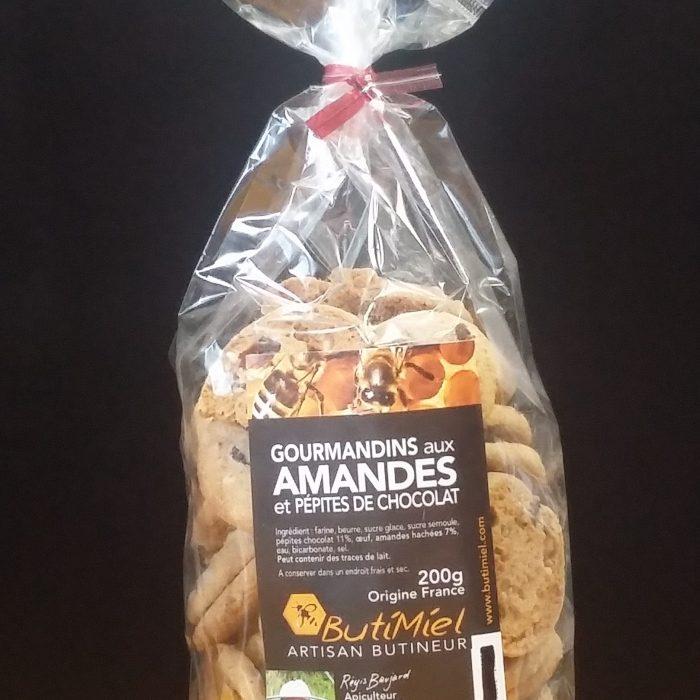 Gourmandins aux amandes Butimiel
