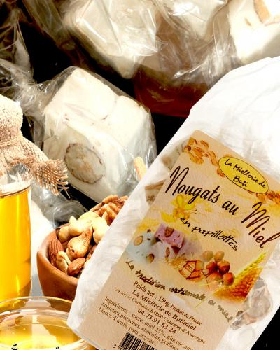 Nougats au miel La miellerie de Buti