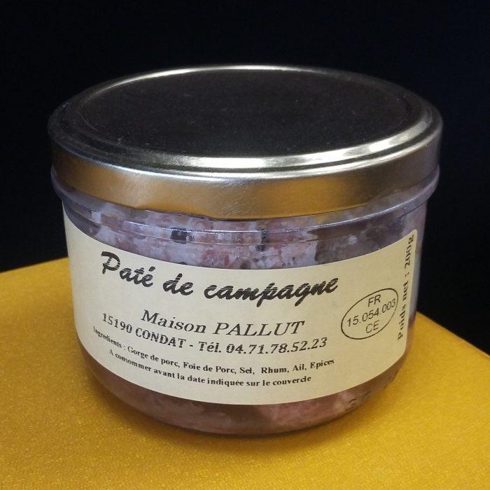 Pot pâté de campagne Pallut