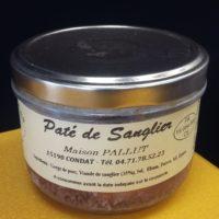 Pot pâté de sanglier maison Pallut