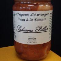 Tripoux veau tomate Salaisons Pallut
