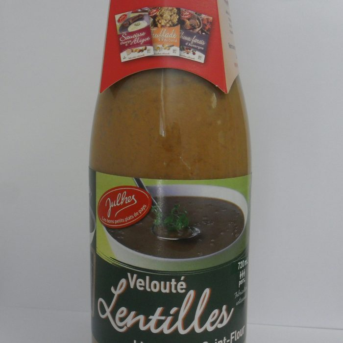 Velouté lentilles blondes de Saint-Flour Julhes