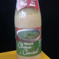 Velouté choux cantal Julhes