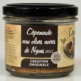 Cèpenade aux olives noires de Nyons