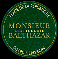 Monsieur distillerie Balthazar