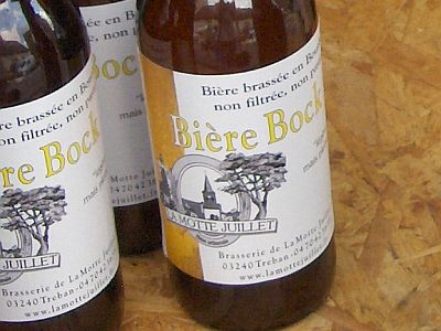 label biere bock