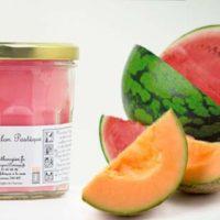 Bougie de Charroux melon pastèque