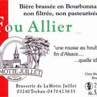 Bière rousse Fou Allier